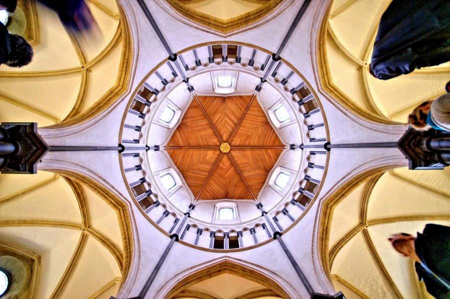 Церковь Тамплиеров 12 века в Лондоне, фотограф Ник Гаррод