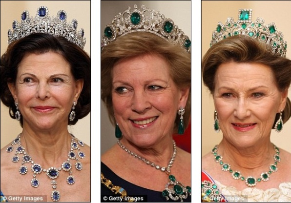 Королева Швеции Сильвия, Энн-Мари из Греции, королева Норвегии Соня