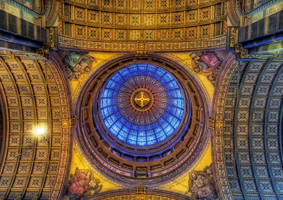 Купол Церкви Святого Николая в Амстердаме 19-го века, фотограф Трей Ратклифф