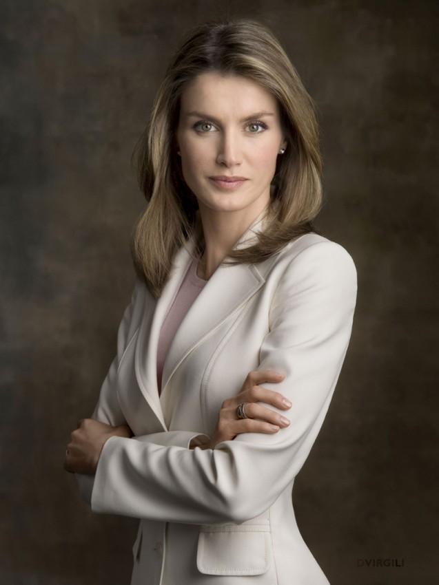 39-летняя Летиция замужем за испанским принцем Фелипе набрала 3% голосов