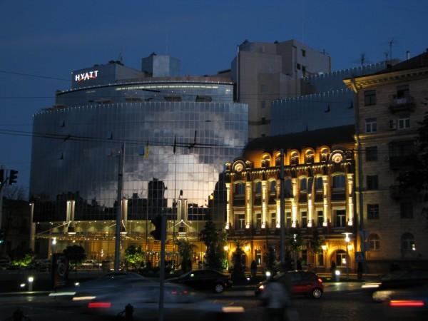 В киевском Hyatt будет штаб-квартира UEFA