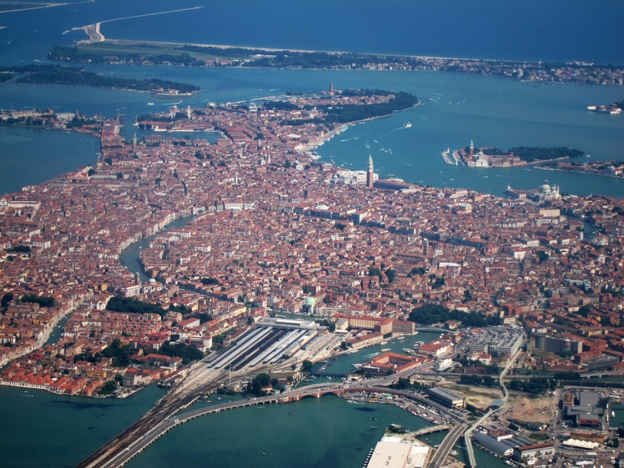 Город Венеция в Италии