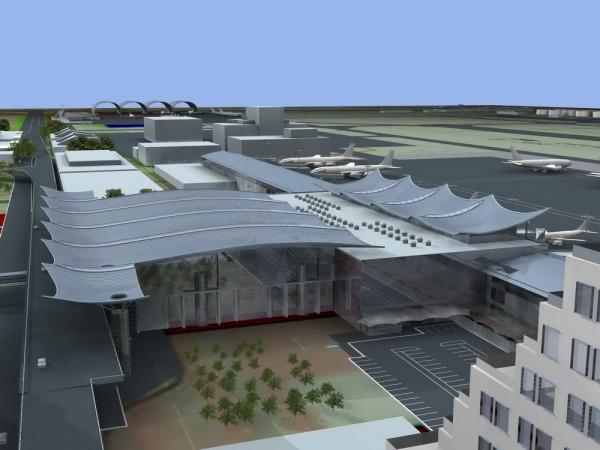 Новый терминал D в Борисполе для фанатов