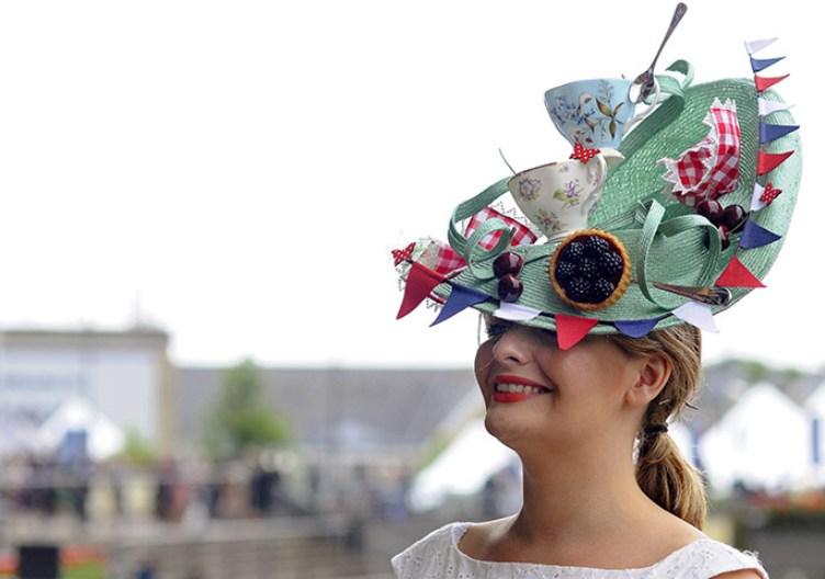 Прекрасная экстравагантная столовая на голове
