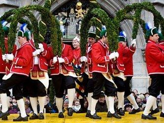 Танец бондарей в Мюнхене