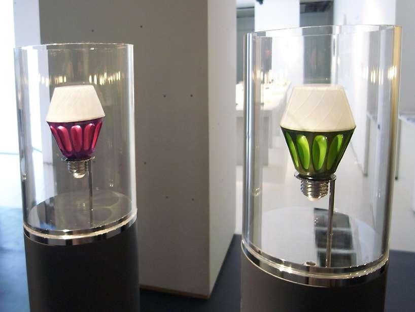 Итальянская интерпретация энергосберегающих ламп от Alessi