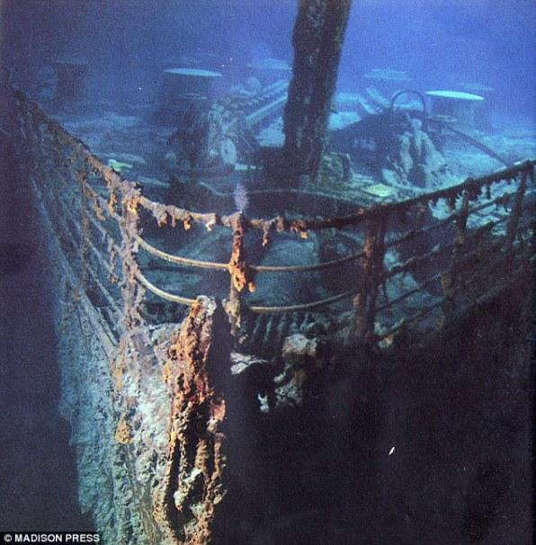 Величественный корабль нашел свое последнее пристанище на дне Атлантики