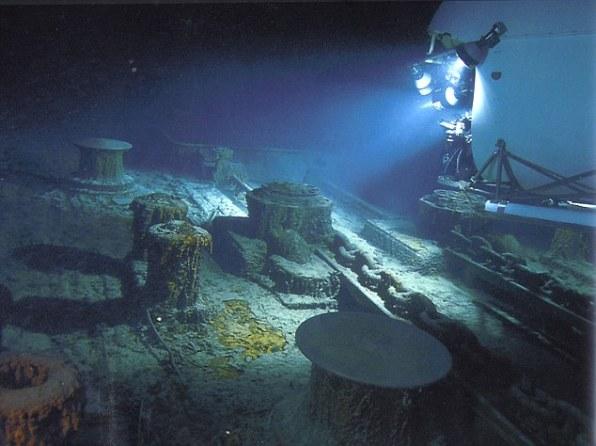 Титаник лежит на максимальной глубине, на которую могут проникнуть люди
