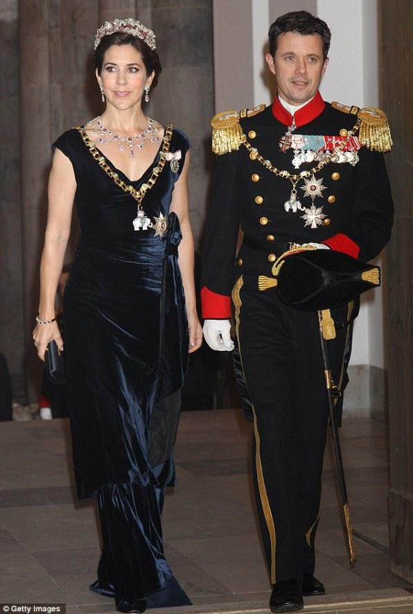 Принцесса Мэри и принц Фредерик