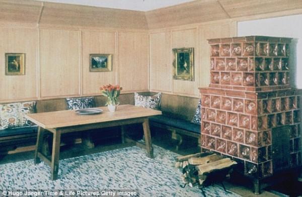 Комната для гостей в Бергхоф