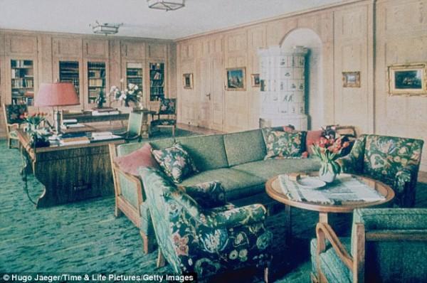 Офис в поместье Бергхоф - отражение германского стиля