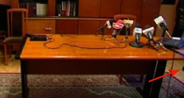 Камера зафиксировала только выстрел и ноги Прокурора