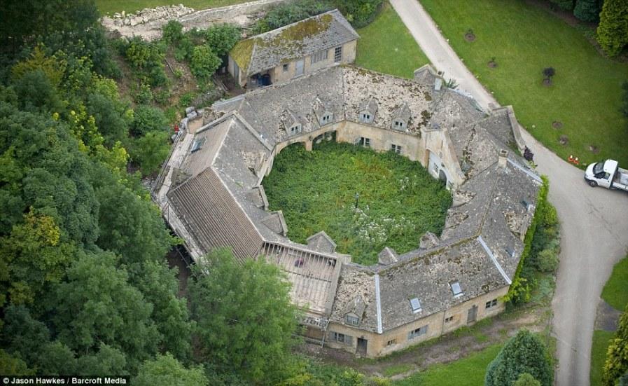 ВУСТЕРШИР: Историческая усадьба с заросшим внутренним садом