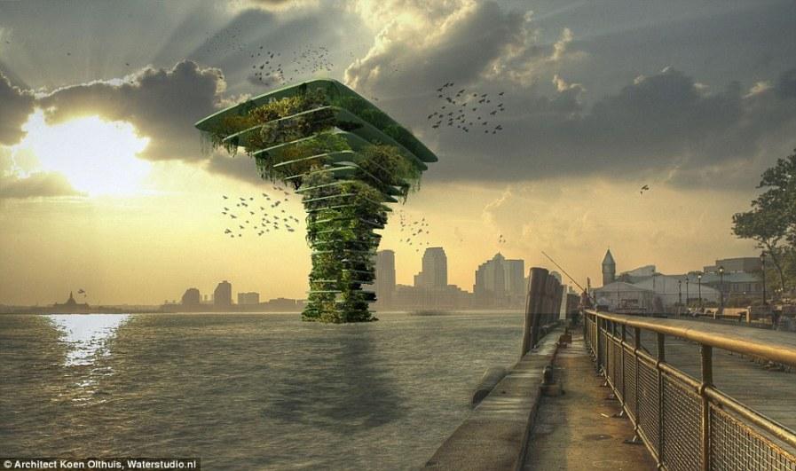 Городское будущее: морское дерево - природный парк станет раем для диких животных