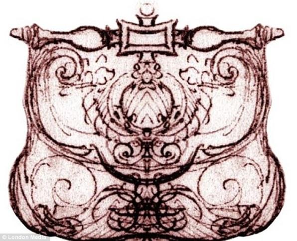 Оригинальный эскиз да Винчи давший жизнь сумочке Pretiosa. Ученые реконструировали фрагментированые чертежи шикарного аксессуара стиля Ренессанс