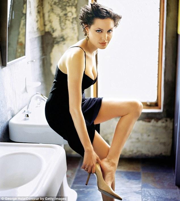 Анджелина Джоли, фотограф Джордж Холз