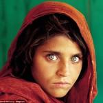 Афганская девочка, фотограф Стив МакКарри
