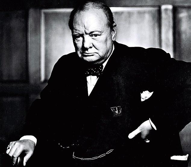 Уинстон Черчилль, фотограф Карш