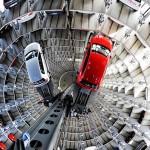 Внутренний вид Авто-башни в Вольфсбурге