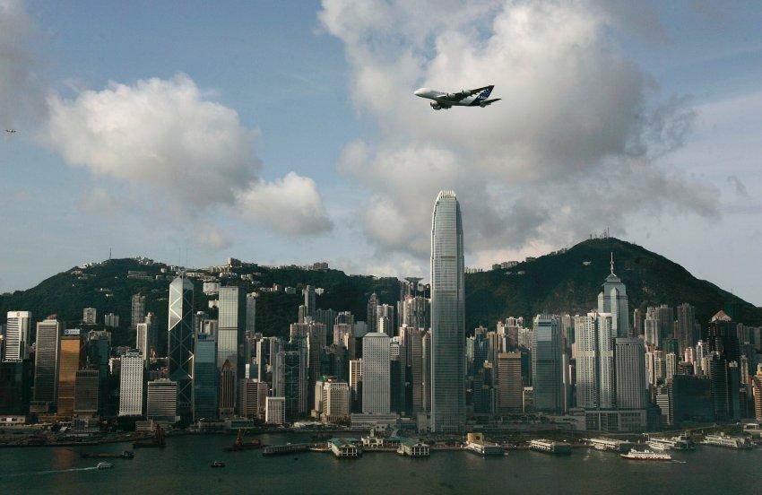 Вылет из Гон Конга в 2007 году, на лайнере 520 пассажиров