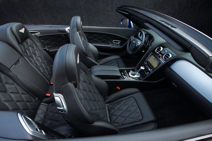 Bentley Continental GTC - крыша поднимется в течение 25 секунд