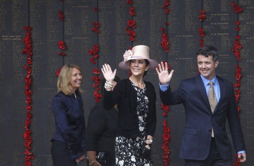 Жена датского кронпринца Фредерика - Мария набрала всего 4% голосов. Родом она из Австралии
