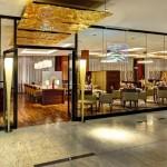 Золотой ресторан в Hilton Frankfurt Airport, знаменит своими хлебными выпечками