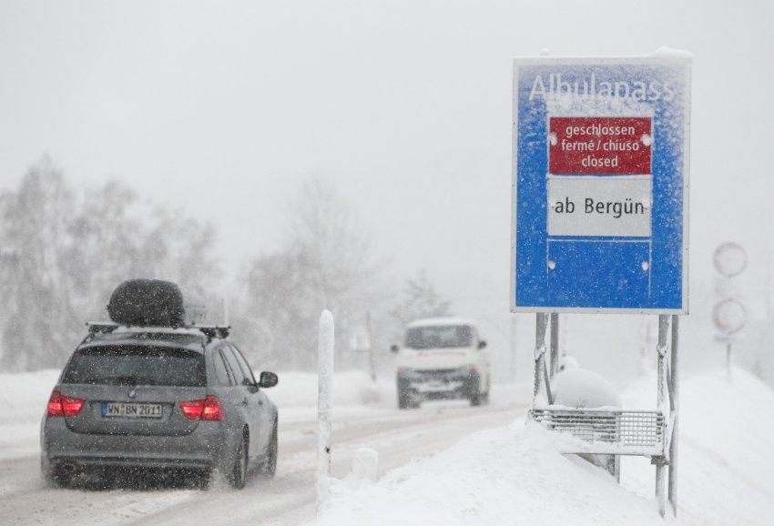 Многие автомобильные дороги закрыты