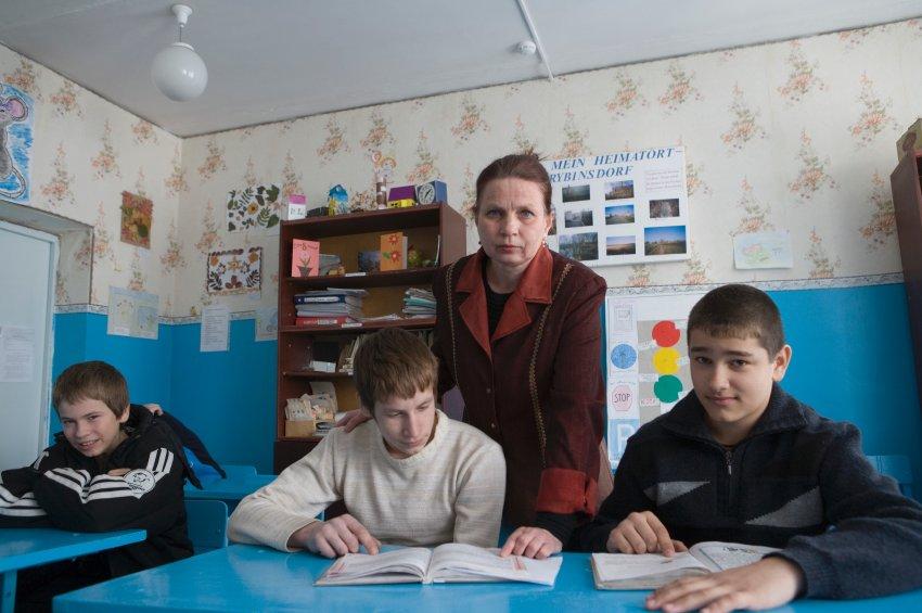 В близлежащей деревне Рыбинское, которая еще в 18 веке носила название Rybensdorf, была основана школа немецкими эмигрантами