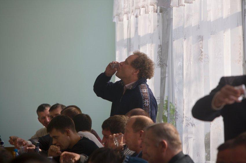 Бывший баварец научился пить водку и поднимать русские тосты