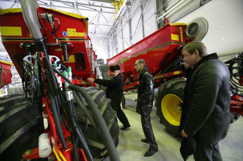 Агропромышленный центр Дюррера занимается сельскохозяйственной техникой