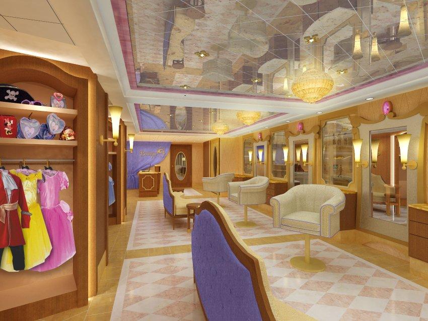 Bibbidi-Bobbidi бутик, в котором девочки превращаются в розовых принцесс