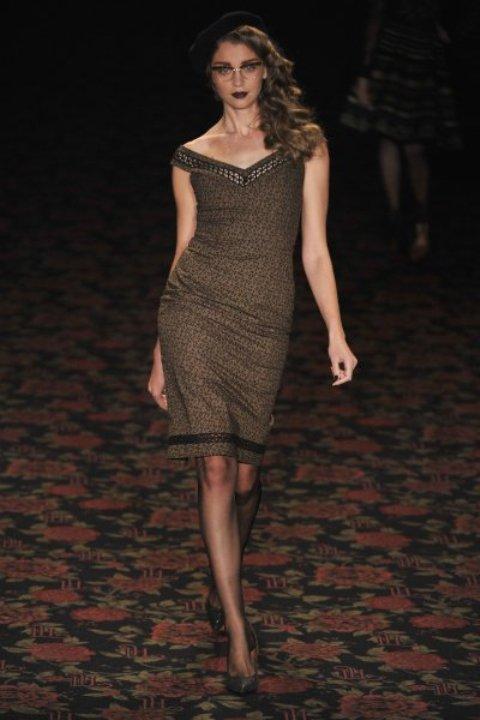 Платье от австрийского дизайнера Lena Hoschek