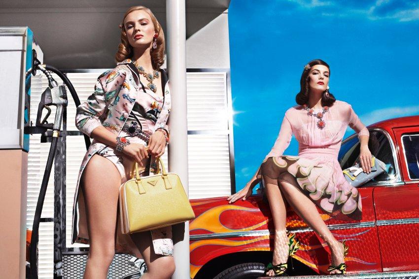 Летняя коллекция от Prada в ретро стиле шестидесятых