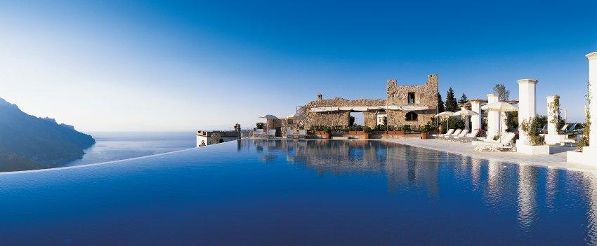 Hotel Caruso, залив Салерно в Южной Италии