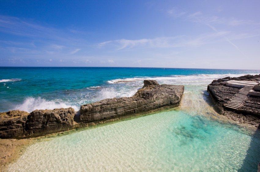 Бассейн Stella Maris Resort на Багамах был построен в 60-х годах