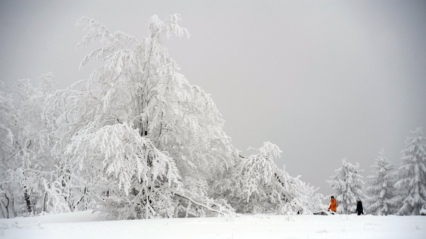 Настоящие зимние картинки в Winterberg