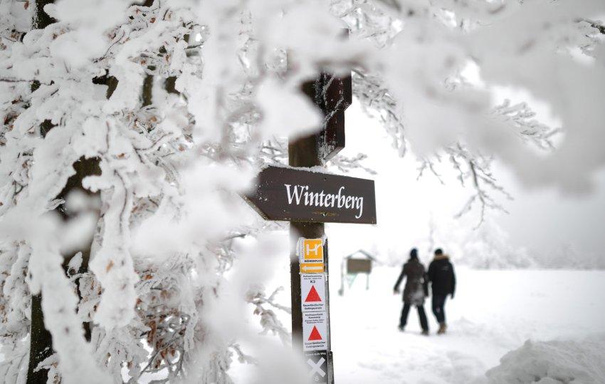 Зима в  Winterberg