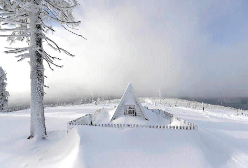 Снежный покров в Верхнем Гарце