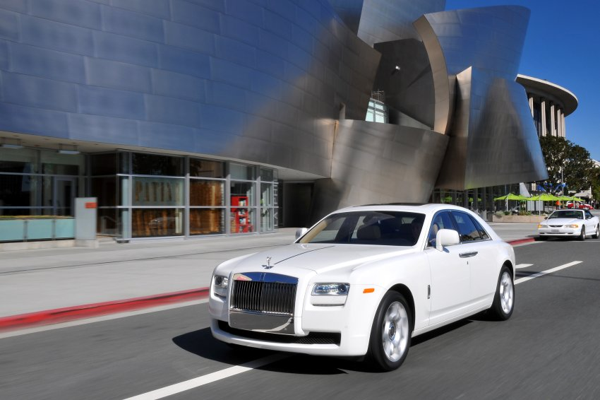 Rolls-Royce Ghost за 255 000 долларов не испугали покупателя