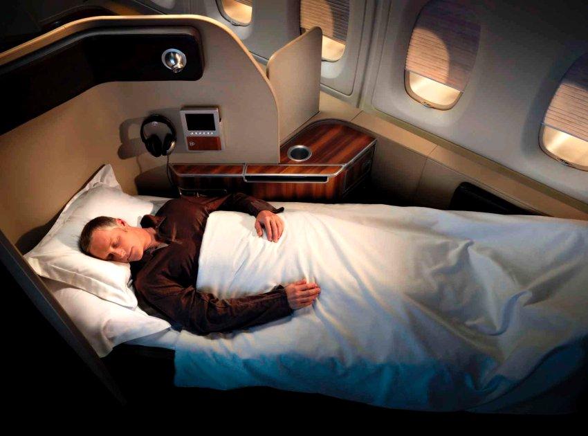 Первый класс в Qantas A380