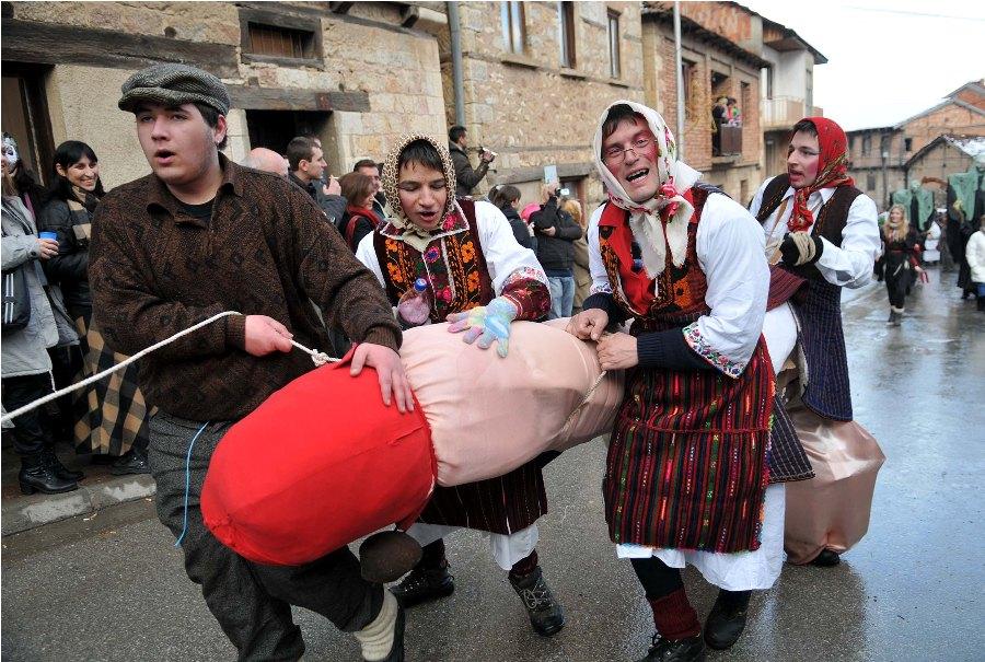Карнавал Vevcani в Македонии