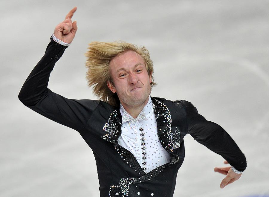 Евгений Плющенко в Шеффилде