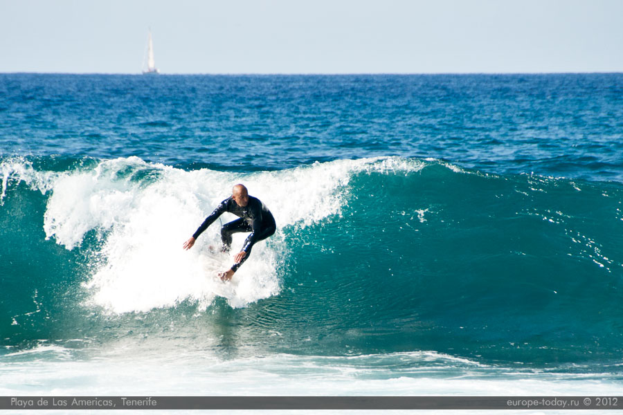 Серфинг в Лас Америкас