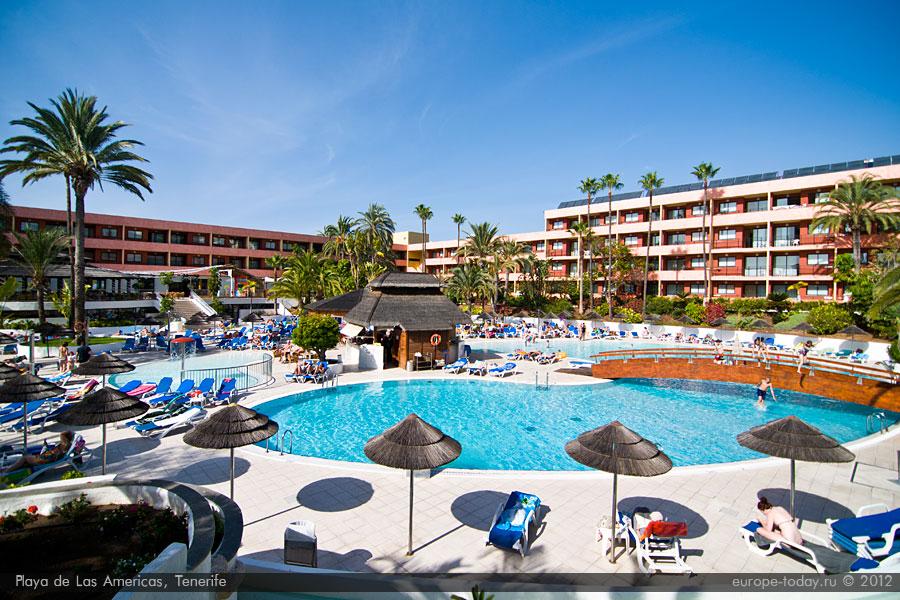 Отель в Лас Америкас
