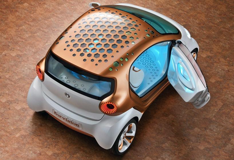 Применение всевозможных энергосберегающих технологий для освещения автомобиля от Philips и BASF на Франкфуртском Автосалоне