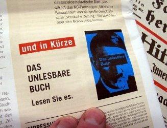 Немецкий суд запретил цитировать книгу Гитлера