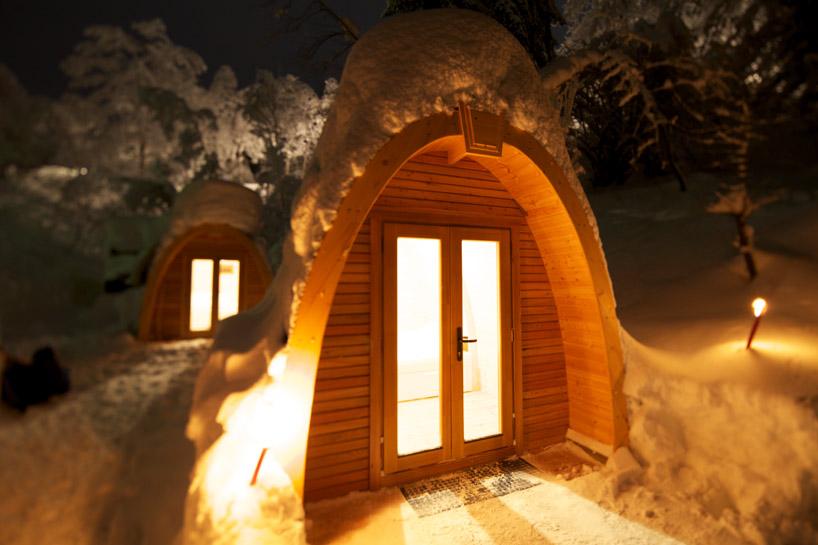 Снежный рай в Швейцарии