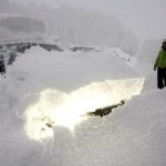 Снежный хаос в Австрии