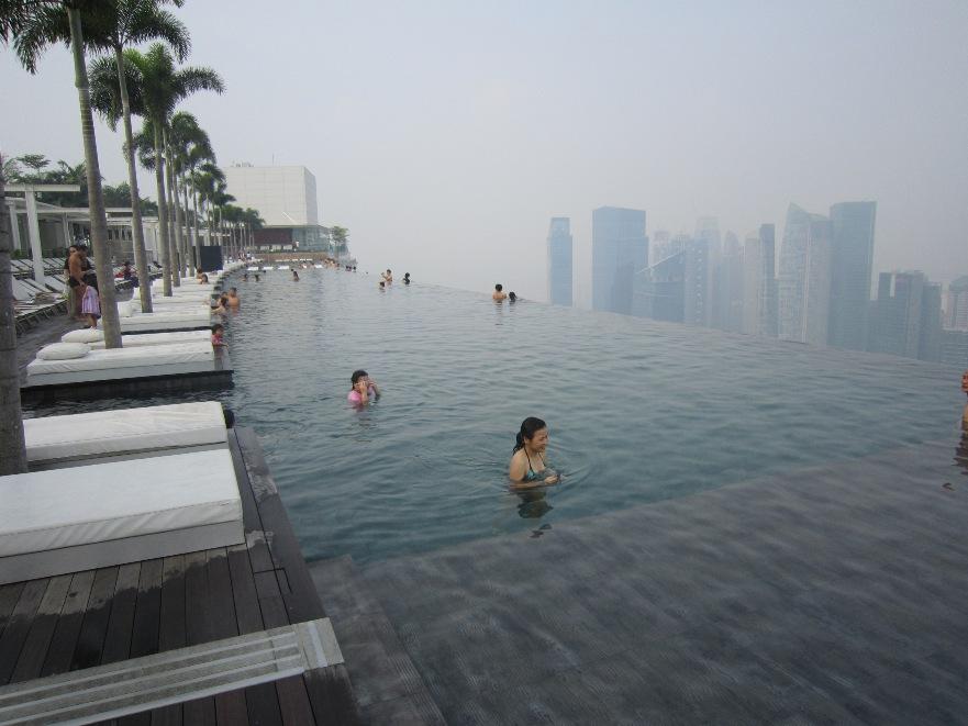 Наслаждение на высоте Marina Bay Sands